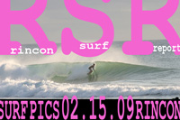 Surfing Puerto Rico - February 15, 2009 turned out to be pretty good, so here at Rincon Surf Report we decided to share it with you all.