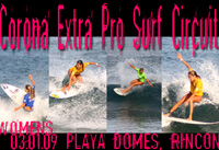 Surfing Puerto Rico - March 1, 2009 Corona Extra Pro Circuit PR women's finals - enjoy the gallery