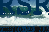 Surfing Puerto Rico - Rincon Surf Report December 2009 Puerto Rico's week of big swell. Rincon breaks like Tres Palmas on fire, Maria's beach going off, and the cleanup glassy leftovers in Aguadilla!