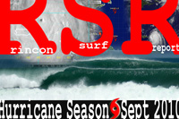 Surfing Puerto Rico - Rincon Surf Report's surf pics from Hurricane Danielle, Hurricane Earl, and Tropical Storm Fiona during the first week of September, 2010.