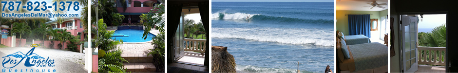 Surf Vacation Rentals in Rincon, Puerto Rico.