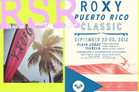 Surfing Puerto Rico - The Roxy Puerto Rico Classic 2012 at Jobos Beach (Playa Jobos) in Isabela.