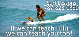 Learn to surf in Rincon, Puerto Rico with Surf Lessons from Desecheo Surf Shop.