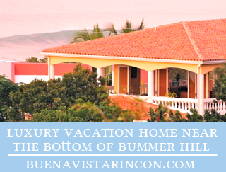 surf vacation rental in rincon right at the bottom of bummer hill