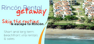 Rincon Rental Getaway, beachfront villa rentals and sales.
