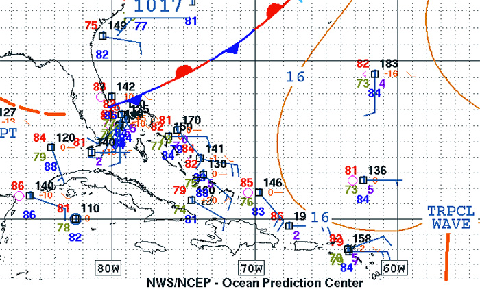 weak weather for surfing puerto rico