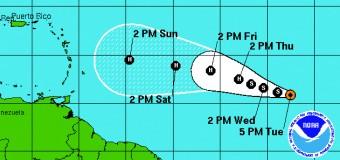 Rincon, Puerto Rico Surf Forecast – August 18, 2015