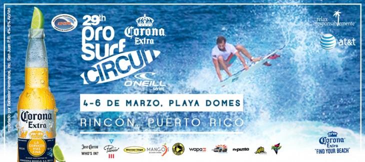 Corona Surf Contest in Rincon Puerto Rico