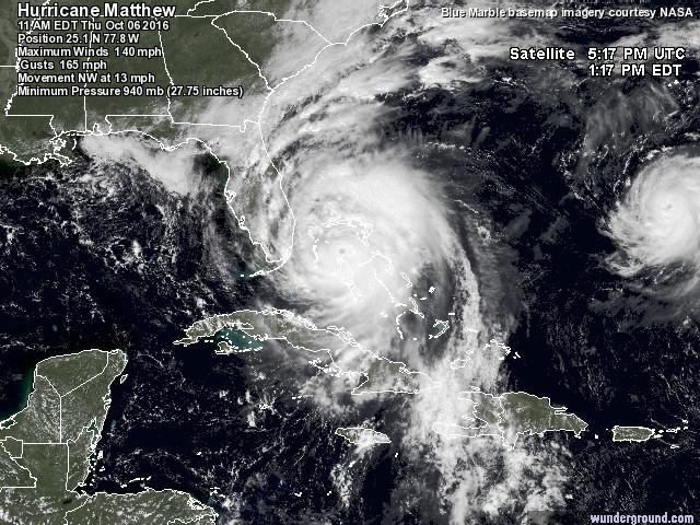 Hurricane Matthew and Hurricane Nicole Making Surf!