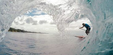 SUP surf lessons from Rincon Paddle Boards