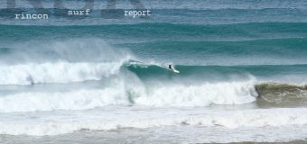 Rincon Surf Report – Afternoon Update 1:00 PM