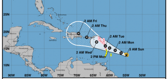 Rincon, Puerto Rico Surf Forecast – Sept 17, 2017