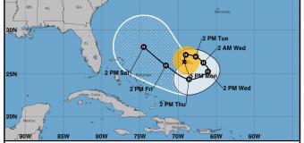 Rincon, Puerto Rico Surf Forecast – Sept 11, 2017