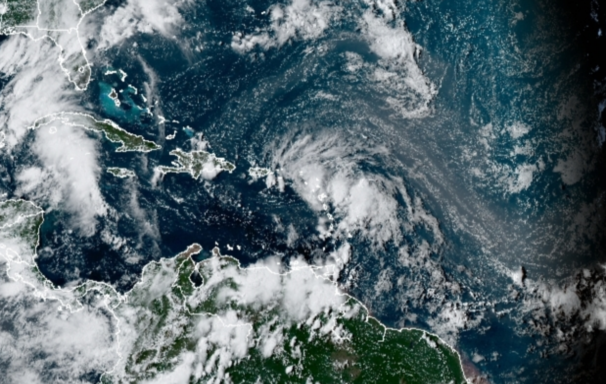 Tropical Storm Laura About to Hit.