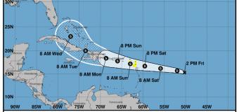 Rincon, Puerto Rico Surf Forecast – August 13, 2021