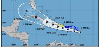 Rincon, Puerto Rico Surf Forecast – August 14, 2021